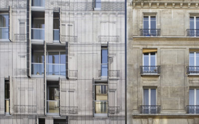 Modern byggplåt möter 1800-tal